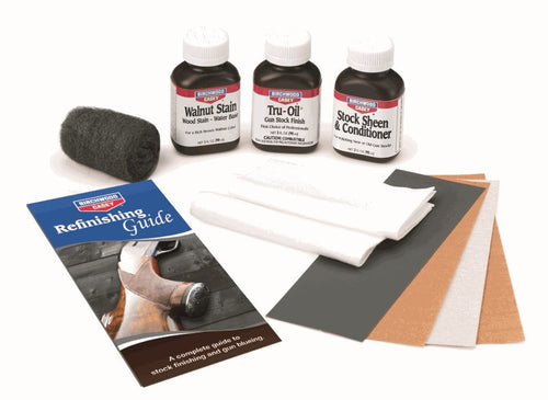 BIRCHWOOD CASEY TRU-OIL STOCK FINISHING KIT -  - Mansfield Hunting & Fishing - Products to prepare for Corona Virus