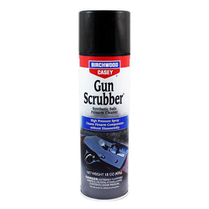 BIRCHWOOD CASEY GUN SCRUBBER 10OZ -  - Mansfield Hunting & Fishing - Products to prepare for Corona Virus