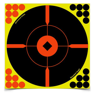 BIRCHWOOD CASEY SHOOT N C 8 BULLS-EYE X-TARGET 50 PACK -  - Mansfield Hunting & Fishing - Products to prepare for Corona Virus