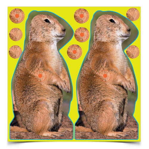 BIRCHWOOD CASEY SHOOT N C PRAIRIE DOG TARGET -  - Mansfield Hunting & Fishing - Products to prepare for Corona Virus