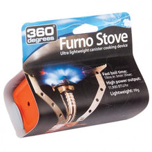 360 Degrees Furno Stove - Ultra Lightweight Canister Cooking Device -  - Mansfield Hunting & Fishing - Products to prepare for Corona Virus