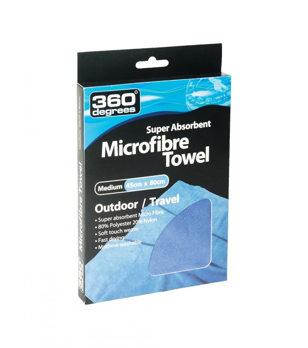 360 DEGREES MICROFIBRE TOWEL LARGE 100X50CM -  - Mansfield Hunting & Fishing - Products to prepare for Corona Virus
