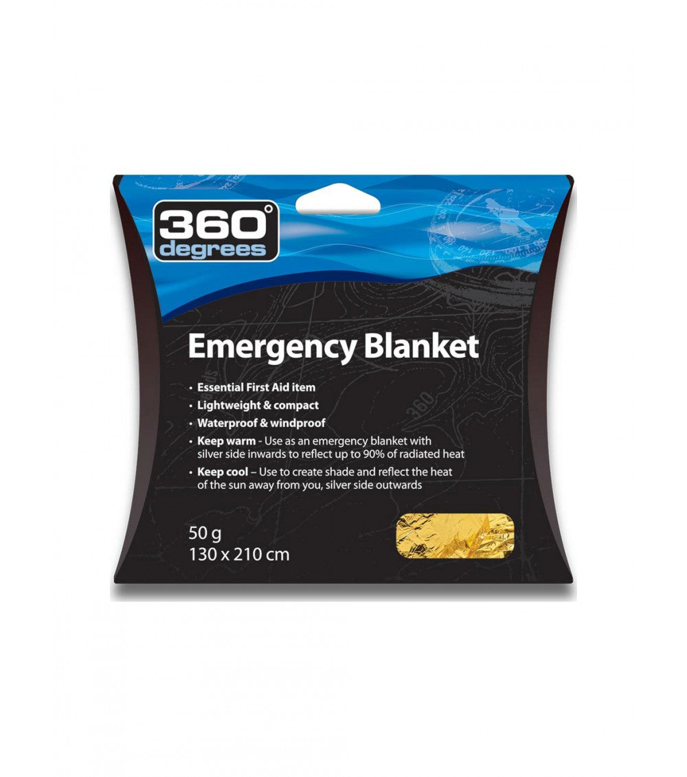 360 DEGREES EMERGENCY BLANKET -  - Mansfield Hunting & Fishing - Products to prepare for Corona Virus