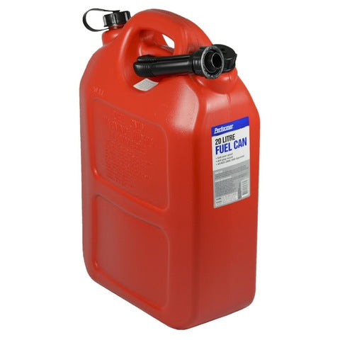 20L RED FUEL CONTAINER - Camping Accessories - Mansfield Hunting & Fishing