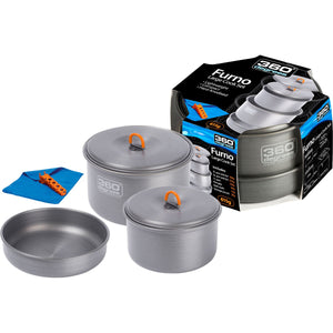 360 Degrees Furno Large cook Set - Lightweight & Compact! -  - Mansfield Hunting & Fishing - Products to prepare for Corona Virus