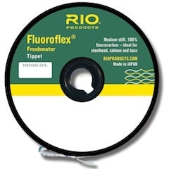 RIO FLUROFLEX FW TIPPET -  - Mansfield Hunting & Fishing - Products to prepare for Corona Virus
