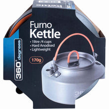 360 Degrees Furno Kettle - 1L/4 Cups -  - Mansfield Hunting & Fishing - Products to prepare for Corona Virus