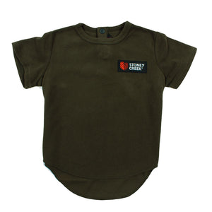STONEY CREEK INFANTS BUSHLITE T - BAYLEAF