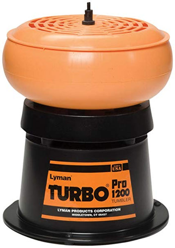 LYMAN 1200 PRO TURBO TUMBLER -  - Mansfield Hunting & Fishing - Products to prepare for Corona Virus