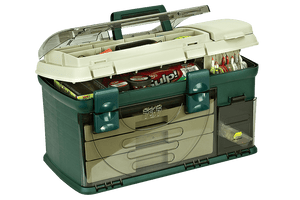 PLANO 737 TACKLE BOX LARGE THREE DRAWER -  - Mansfield Hunting & Fishing - Products to prepare for Corona Virus