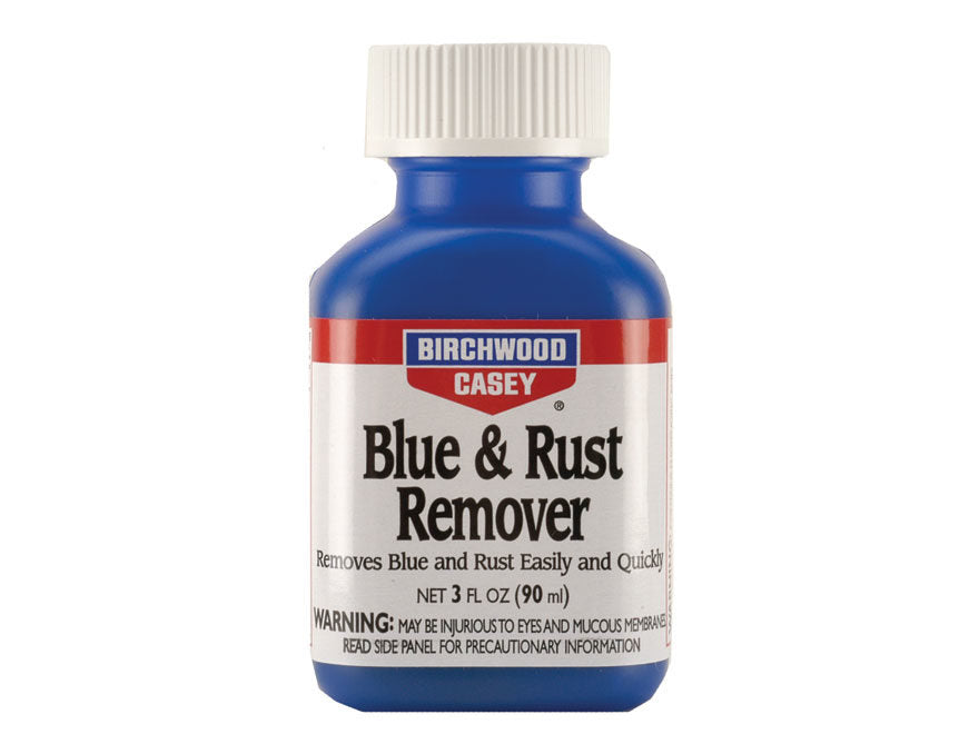 BIRCHWOOD CASEY BLUE & RUST REMOVER 3OZ -  - Mansfield Hunting & Fishing - Products to prepare for Corona Virus