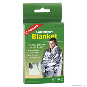 Coghlans Emergency Blanket - Backpack Hunting - Emergency Blanket - Mansfield Hunting & Fishing
