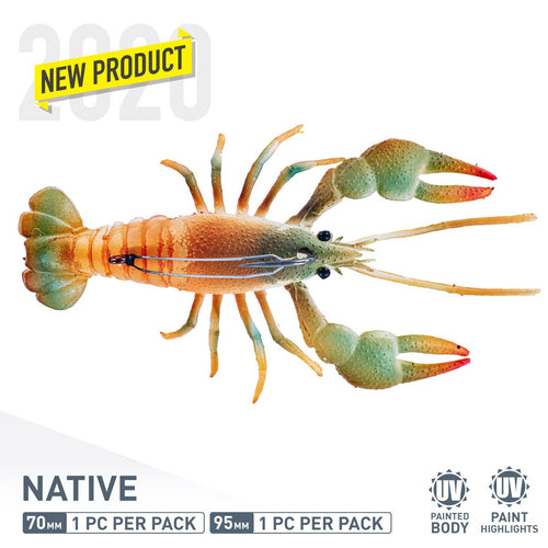 CHASEBAITS MUD BUG COL 06 NATIVE -  - Mansfield Hunting & Fishing - Products to prepare for Corona Virus