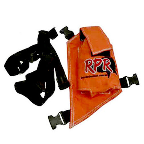 RPR GPS/UHF HOLSTER - ORANGE SINGLE -  - Mansfield Hunting & Fishing - Products to prepare for Corona Virus