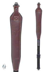 ALLEN BAKTRAK LEATHER HORNS SLING + SWIVELS -  - Mansfield Hunting & Fishing - Products to prepare for Corona Virus