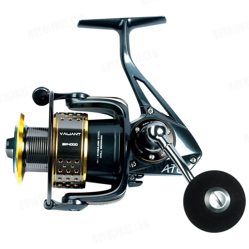 ATC Valiant SW Carbon Fibre Spin Reel -  - Mansfield Hunting & Fishing - Products to prepare for Corona Virus