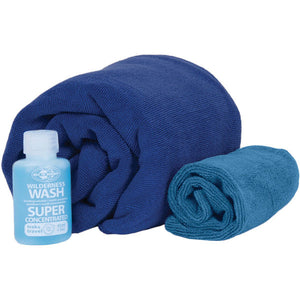 Sea To Summit Tek Towel Wash Kit -  - Mansfield Hunting & Fishing - Products to prepare for Corona Virus