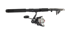 ABU GARCIA TRACKER 6FT 20SZ TELESCOPIC ROD COMBO -  - Mansfield Hunting & Fishing - Products to prepare for Corona Virus