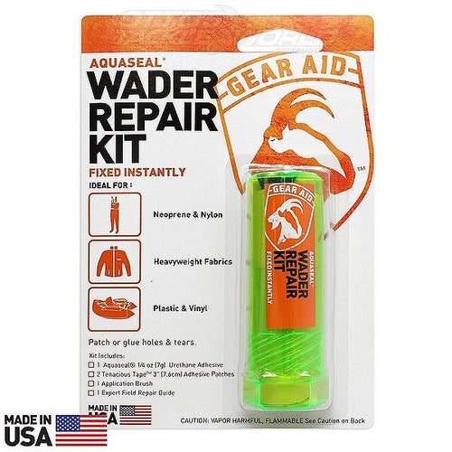 AQUASEAL WADER REPAIR KIT 1/4OZ -  - Mansfield Hunting & Fishing - Products to prepare for Corona Virus