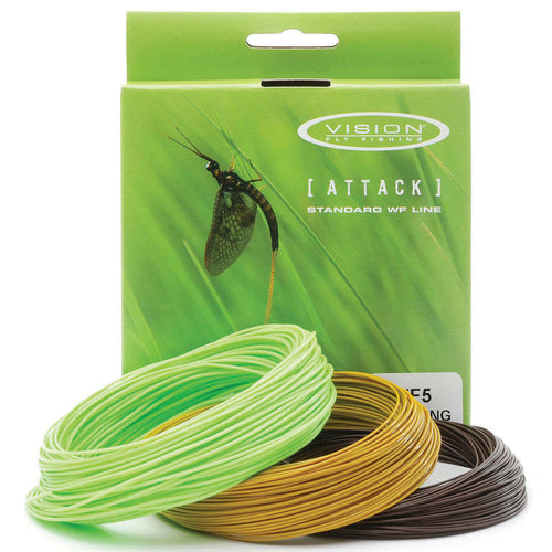 VISION ATTACK SINKING FLY LINE -  - Mansfield Hunting & Fishing - Products to prepare for Corona Virus