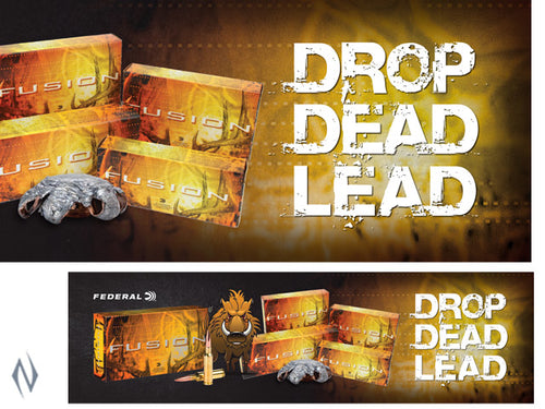 BAR MAT - FEDERAL DROP DEAD LEAD 870X245MM -  - Mansfield Hunting & Fishing - Products to prepare for Corona Virus