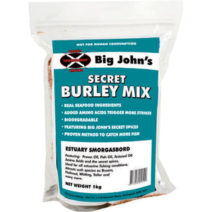 BIG JOHNS SECRET BURLEY MIX -  - Mansfield Hunting & Fishing - Products to prepare for Corona Virus