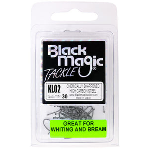 Black Magic KL Hook - Various Sizes - 02 - Mansfield Hunting & Fishing - Products to prepare for Corona Virus