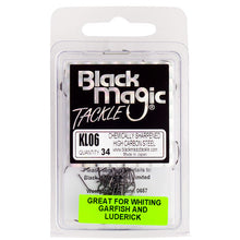 Black Magic KL Hook - Various Sizes - 06 - Mansfield Hunting & Fishing - Products to prepare for Corona Virus