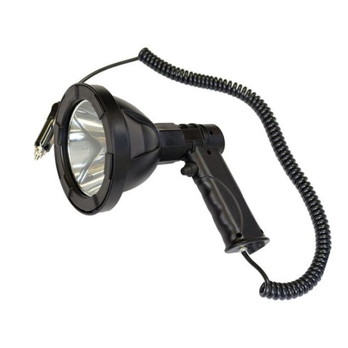 BUFFALO RIVER HAND HELD SPOTLIGHT 110MM - 540 LUMENS - RECHARGEABLE -  - Mansfield Hunting & Fishing - Products to prepare for Corona Virus