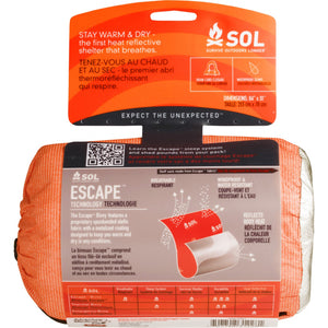 ADVENTURE MEDICAL KIT SOL ESCAPE BIVVY - SURVIVAL ORANGE -  - Mansfield Hunting & Fishing - Products to prepare for Corona Virus