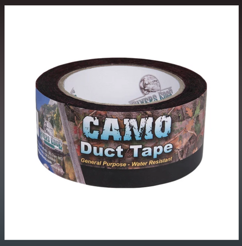 CAMO DUCT TAPE 9M ROLL -  - Mansfield Hunting & Fishing - Products to prepare for Corona Virus
