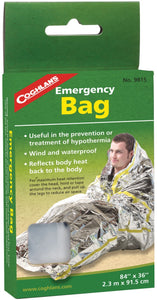 COGHLANS EMERGENCY BAG - CAMPING-EMERGENCY/SURVIVAL GEAR - Mansfield Hunting & Fishing