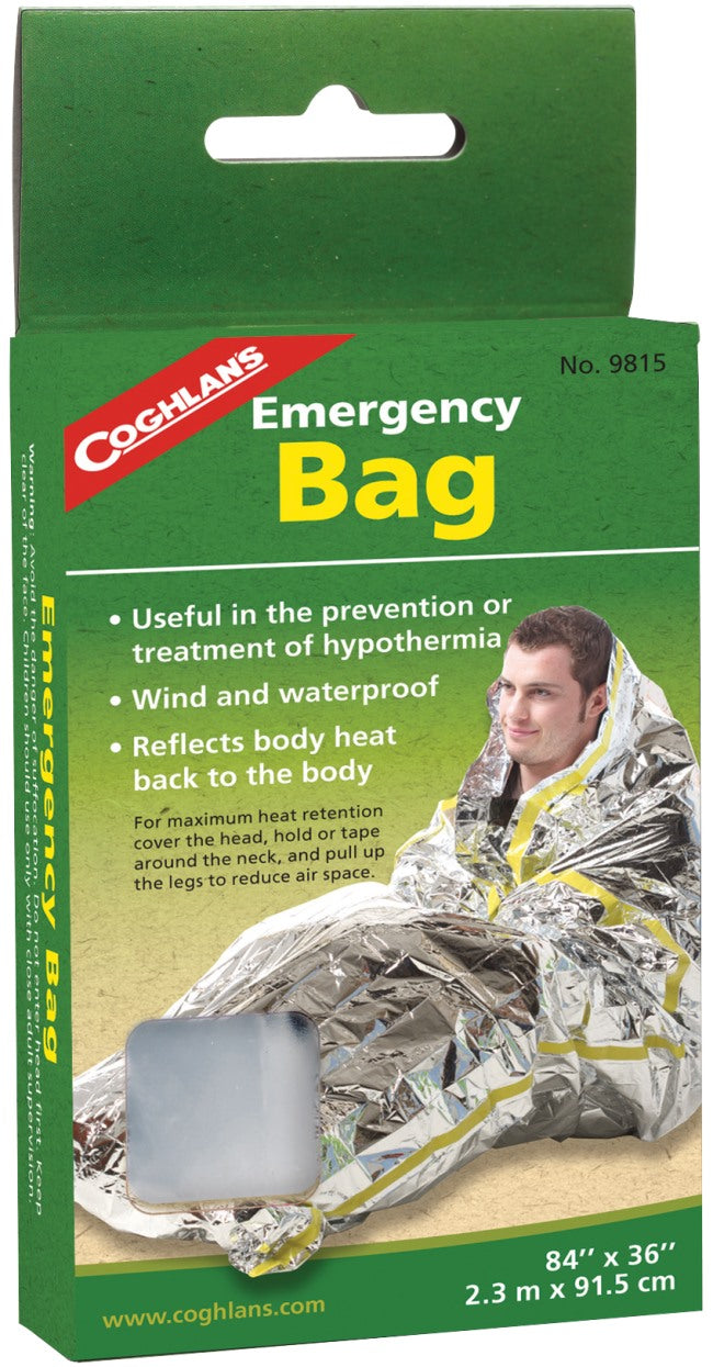 COGHLANS EMERGENCY BAG -  - Mansfield Hunting & Fishing - Products to prepare for Corona Virus