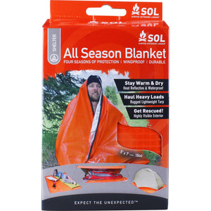 ADVENTURE MEDICAL KIT ALL SEASON BLANKET -  - Mansfield Hunting & Fishing - Products to prepare for Corona Virus