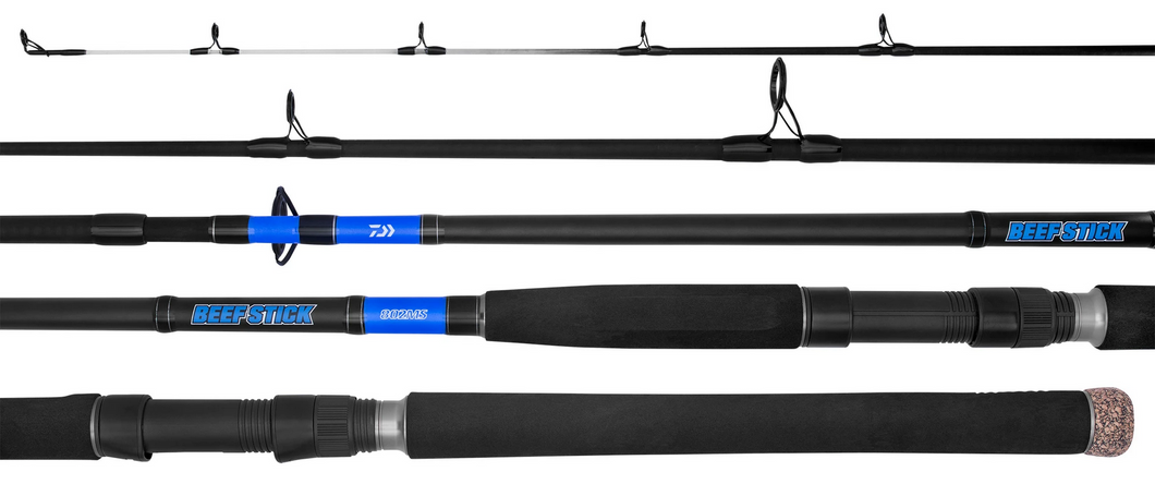 DAIWA BEEFSTICK BAITCASTER ROD 4-8KG 561MB -  - Mansfield Hunting & Fishing - Products to prepare for Corona Virus