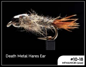 MANIC DEATH METAL HARES EAR #12 -  - Mansfield Hunting & Fishing - Products to prepare for Corona Virus