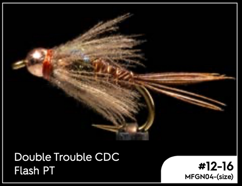 MANIC DOUBLE TROUBLE CDC FLASH PT -  - Mansfield Hunting & Fishing - Products to prepare for Corona Virus