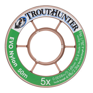 TROUT HUNTER EVO NYLON TIPPET 50M -  - Mansfield Hunting & Fishing - Products to prepare for Corona Virus