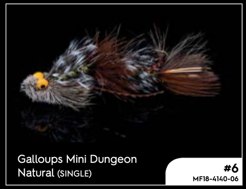 MANIC GALLOUPS MINI DUNGEON NATURAL #6 -  - Mansfield Hunting & Fishing - Products to prepare for Corona Virus