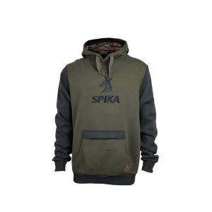 SPIKA MENS GO HOODIE - OLIVE - S / OLIVE - Mansfield Hunting & Fishing - Products to prepare for Corona Virus
