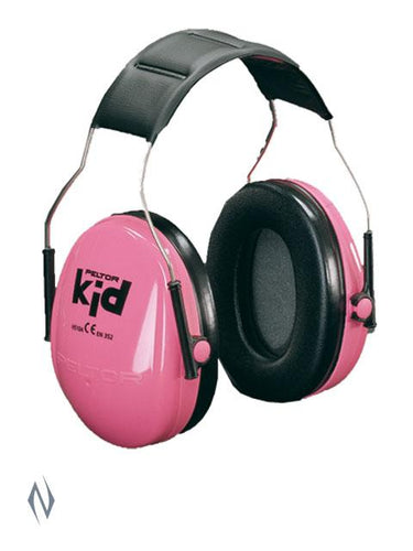 PELTOR KIDS EARMUFF PINK -  - Mansfield Hunting & Fishing - Products to prepare for Corona Virus