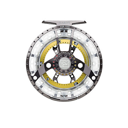 Hardy Ultralite ASR Fly Reel 5000 5/6 Titanium -  - Mansfield Hunting & Fishing - Products to prepare for Corona Virus