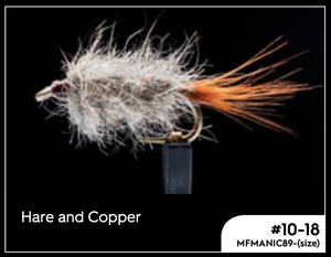 MANIC HARE AND COPPER #12 -  - Mansfield Hunting & Fishing - Products to prepare for Corona Virus