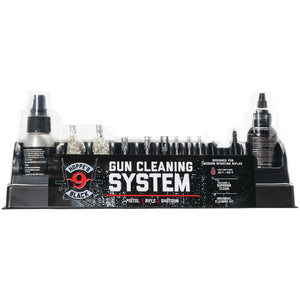 HOPPES BLACK UNIVERSAL GUN CLEANING KIT -  - Mansfield Hunting & Fishing - Products to prepare for Corona Virus
