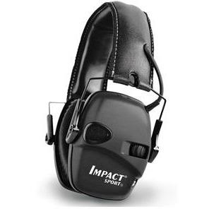 HOWARD LEIGHT IMPACT SPORT BLACK EAR MUFF 24DB RATING -  - Mansfield Hunting & Fishing - Products to prepare for Corona Virus