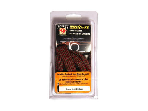 HOPPES BORE SNAKE 6MM- .243 -  - Mansfield Hunting & Fishing - Products to prepare for Corona Virus