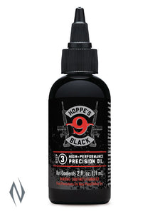 HOPPES BLACK 9 HIGH-PERFORMANCE PRECISION OIL 2FL OZ -  - Mansfield Hunting & Fishing - Products to prepare for Corona Virus