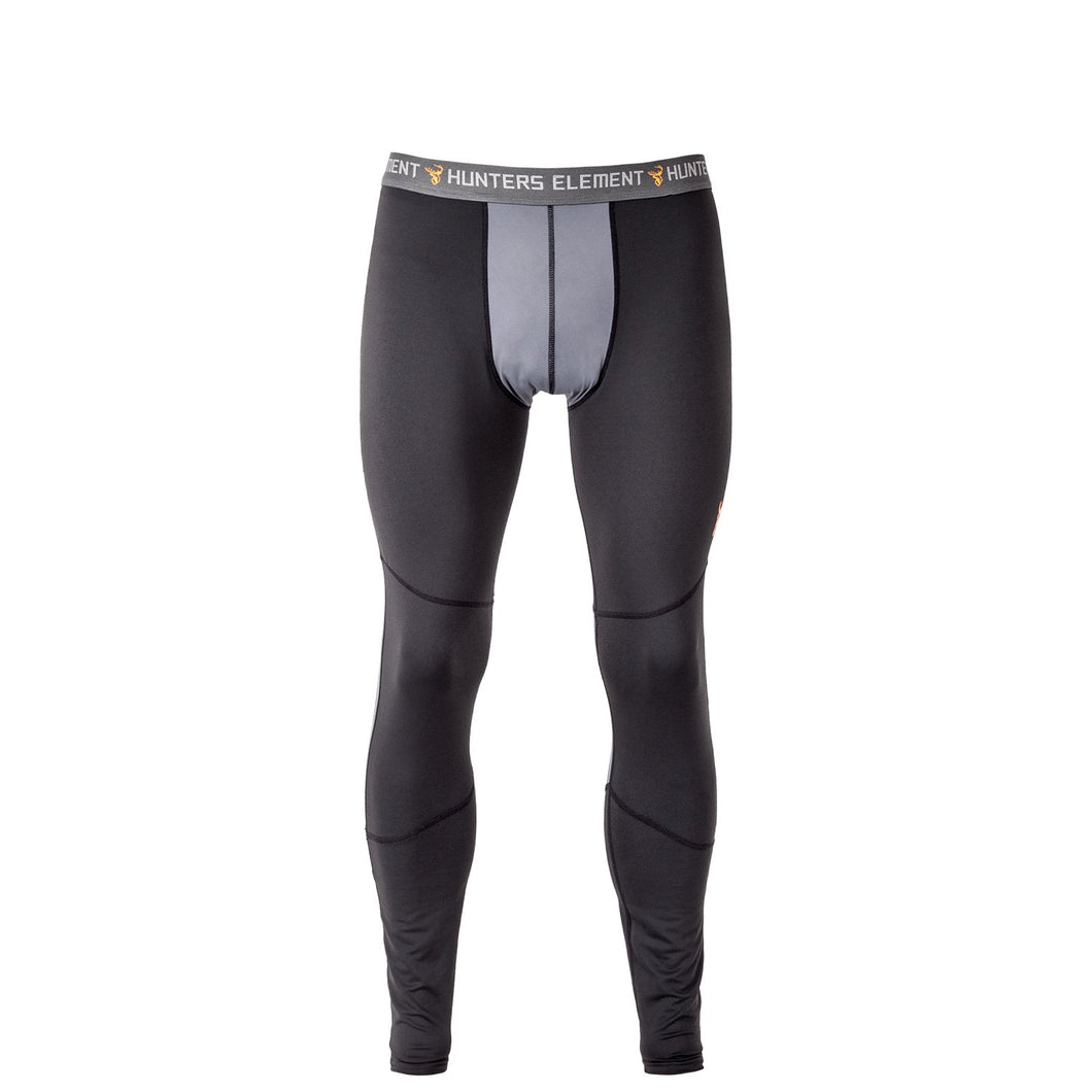 HUNTERS ELEMENT CORE LEGGINGS BLACK -  - Mansfield Hunting & Fishing - Products to prepare for Corona Virus