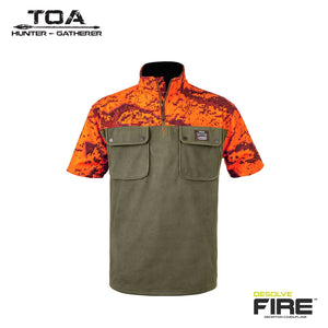 HUNTERS ELEMENT NGAHERE BUSH SHIRT FOREST GREEN/ DESOLVE FIRE -  - Mansfield Hunting & Fishing - Products to prepare for Corona Virus