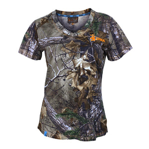 SPIKA HR Trail Camo Cotton Tee - HW-100 -  - Mansfield Hunting & Fishing - Products to prepare for Corona Virus